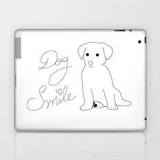 Dog Smile Laptop & iPad Skin