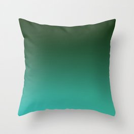 SHADOWS AND COUNTERPARTS - Minimal Plain Soft Mood Color Blend Prints Throw Pillow