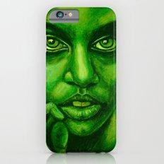 don't panic! green Slim Case iPhone 6s