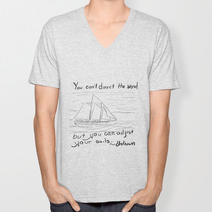 Adjust Your Sails Unisex V-Neck