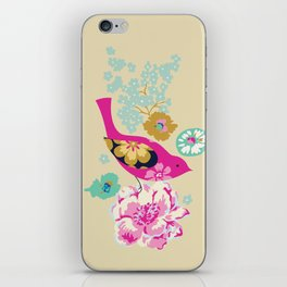 Birds and Blooms 1 iPhone Skin