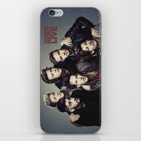snl iPhone & iPod Skins featuring One Direction - SNL w/ Paul Rudd by Amara V