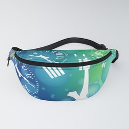 Time bubble Fanny Pack