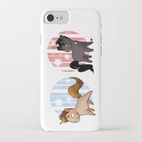 unicorns iPhone & iPod Cases featuring Unicorns by Sunshunes