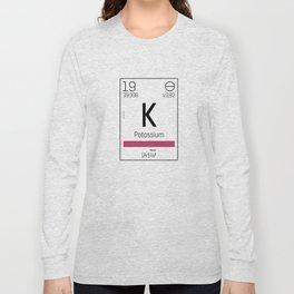 Potassium - chemical Long Sleeve T-shirt