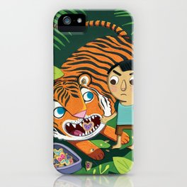 Cookie Tiger iPhone Case