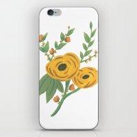 SPRING VINTAGE FLORAL iPhone & iPod Skin