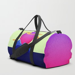 055 Owly travels the inky mountains Duffle Bag