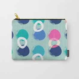 Brush Strokes Fun Pattern Carry-All Pouch