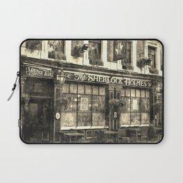 The Sherlock Holmes pub Vintage Laptop Sleeve