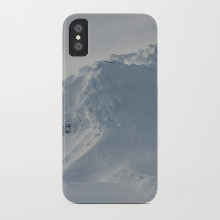 Mt Hood - Early Winter iPhone Case