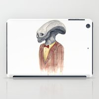 xenomorph iPad Cases featuring Xenomorph by Monsters in Plaid