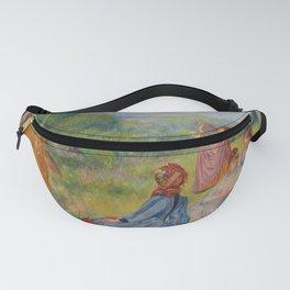 """Auguste Renoir """"Jeunes filles jouant au volant"""" Fanny Pack"""