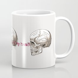 Can't get you out of my head vintage illustration Coffee Mug