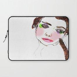 Fashion Face Laptop Sleeve