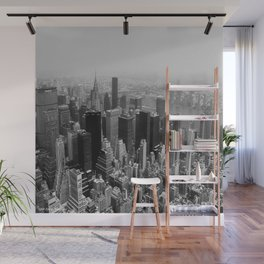 New York City Black and White Wall Mural