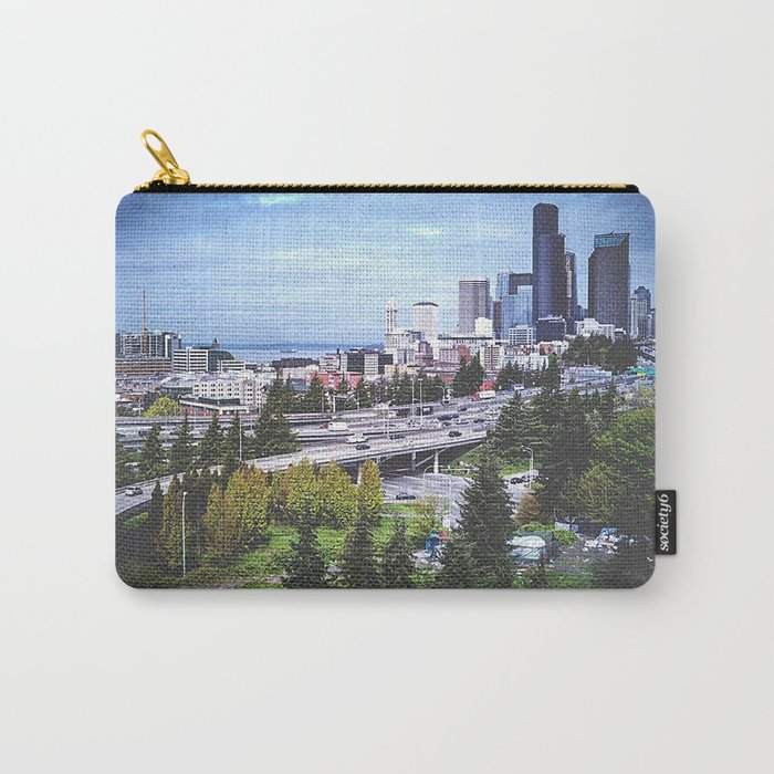 Seattle Summer Carry-All Pouch