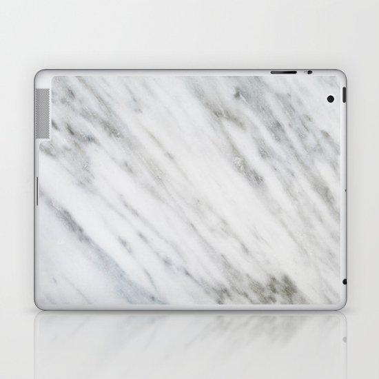 Carrara Italian Marble Laptop & iPad Skin