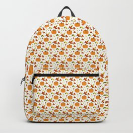 Pumpkins and Leaves Backpack