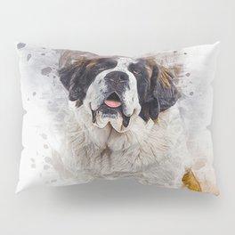 St Bernard Pillow Sham