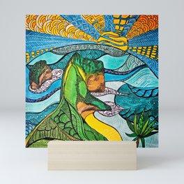 Kelingkin Beach Mini Art Print