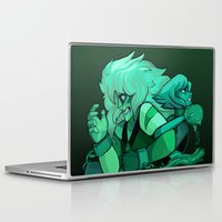 malachite Laptop & iPad Skins featuring We are Malachite by Madame Clockwork