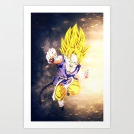 Gohan Dragon Ball Super Art Print