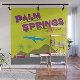 Palm Springs: Jet Set Paradise Wall Mural