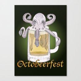 Octobeerfest Canvas Print