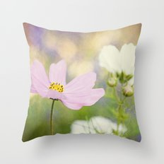 The Cosmos Dance Throw Pillow