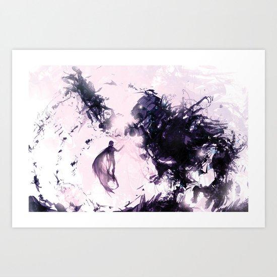 Rage and Serenity Art Print