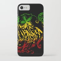 reggae iPhone & iPod Cases featuring Reggae Lady by Lonica Photography & Poly Designs