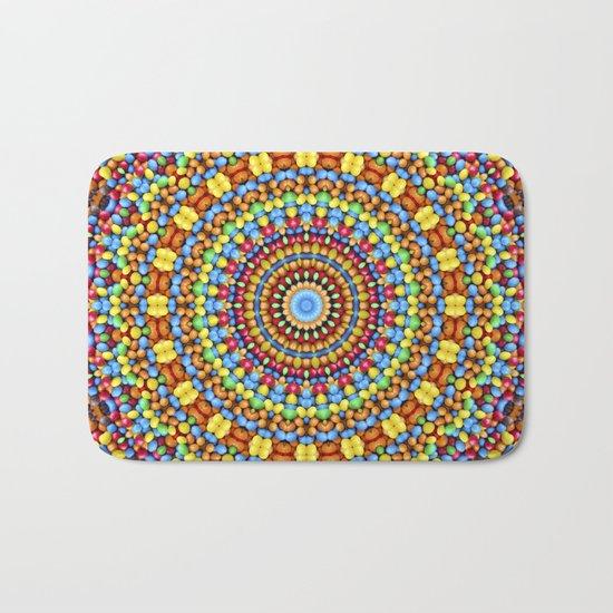 Kaleidoscope Candy Bath Mat