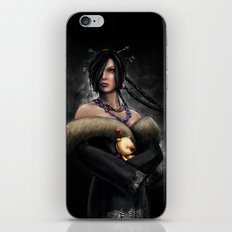 Final Fantasy X Lulu Painting Portrait iPhone & iPod Skin