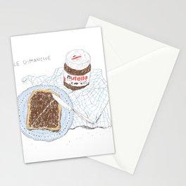Breakfast on Sunday Stationery Cards