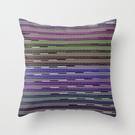 Static VIII [Rainbow Drinker] Throw Pillow