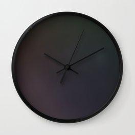 Dark Space Wall Clock