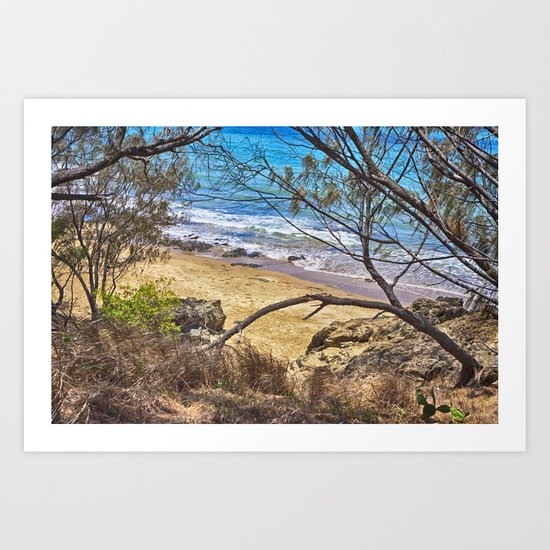 Come with me to the sea Art Print