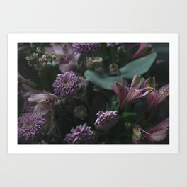 Flower feast Art Print