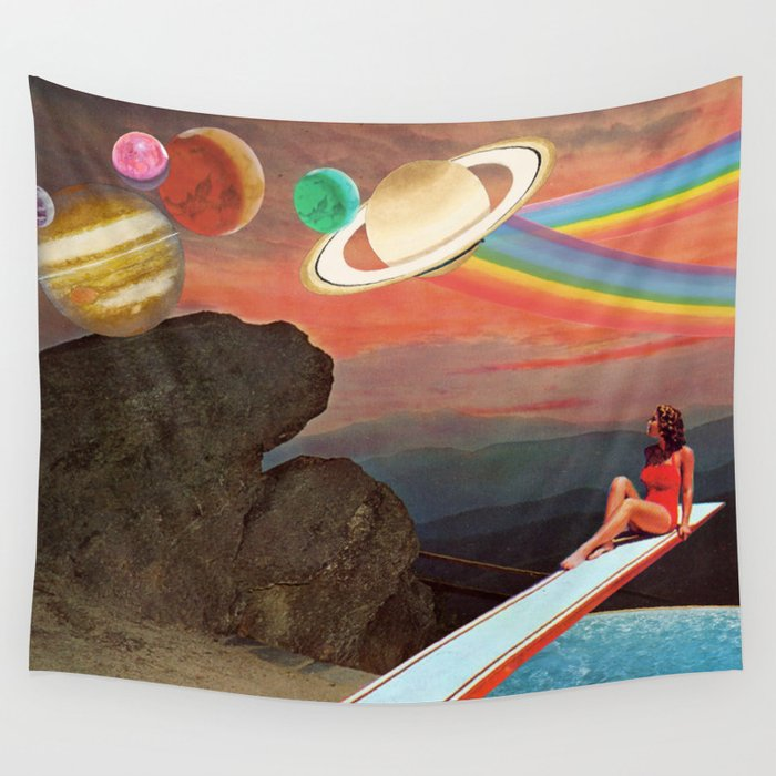 Infinity Pool Wall Tapestry