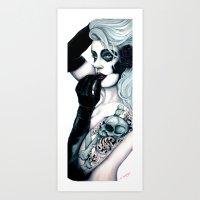 The Innocence of death Art Print