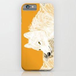 Totem white wolf nubilus iPhone Case