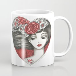 Valentine Girl Coffee Mug
