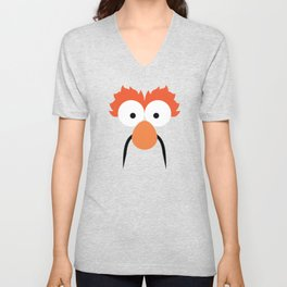 Lab Beaker Unisex V-Neck