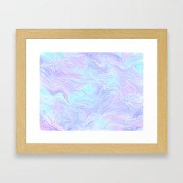 Pastel Holo Framed Art Print