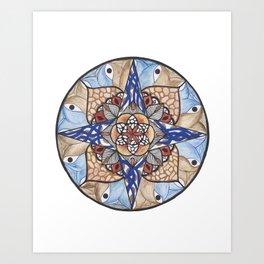Hidden Jewel Art Print