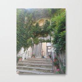 Garden Entrance in Ravenna Metal Print