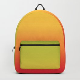 Tropical Colorful Gradient Pattern Backpack