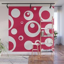Circles Dots Bubbles :: Geranium Wall Mural