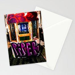 Trolly Graffiti Stationery Cards